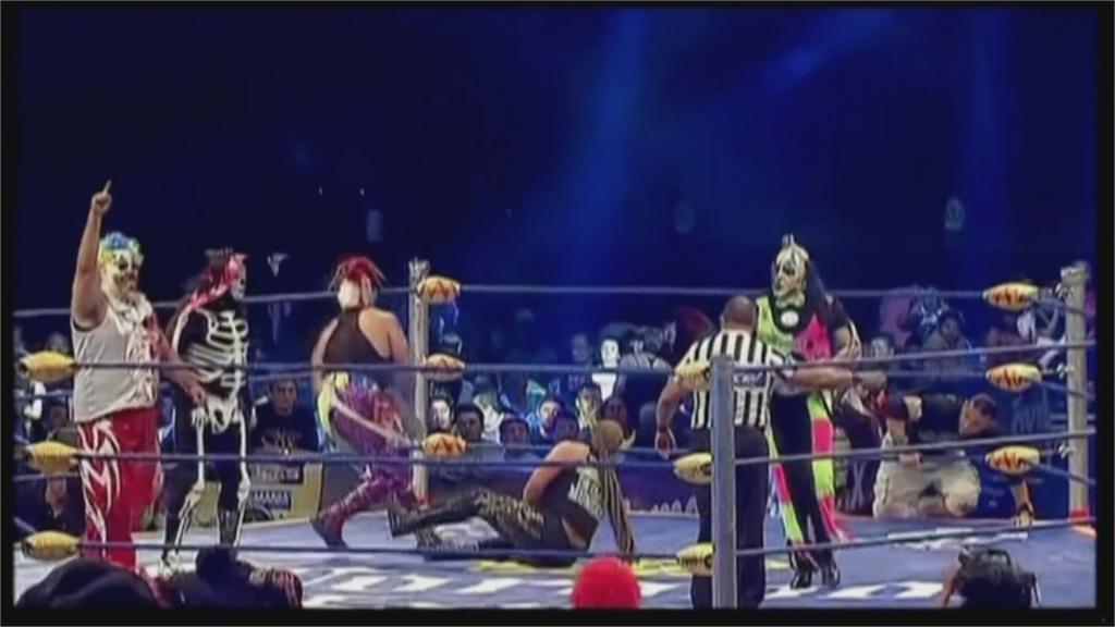肺炎疫情肆虐場館關閉 墨西哥逾千名摔角手失業