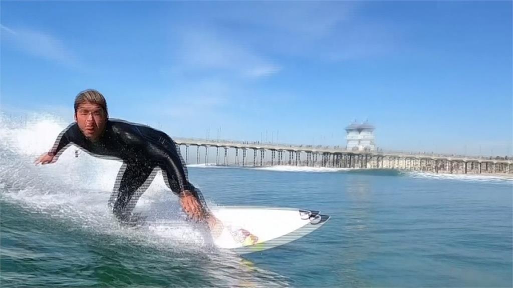 日裔衝浪好手五十嵐 加州備戰有信心東奧奪牌
