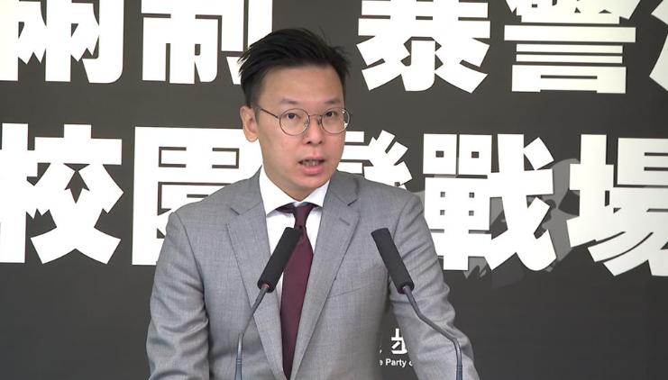 快新聞/黃之鋒等4人退出香港眾志 林飛帆:非常沉重