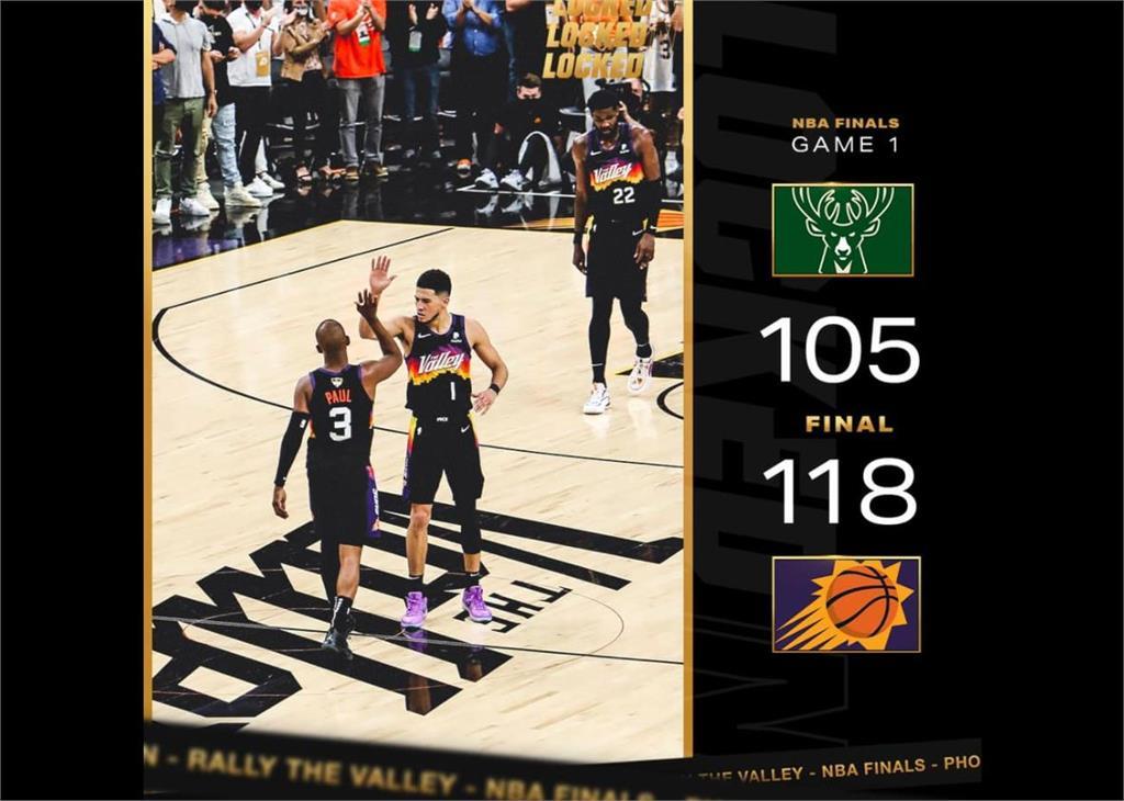 NBA/太陽總冠軍賽開門紅 保羅32分轟垮公鹿