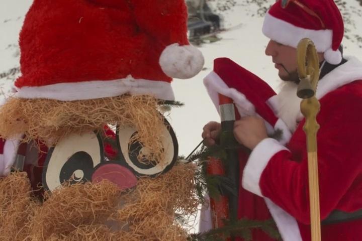 耶誕節倒數  瑞士耶老大賽趣味登場