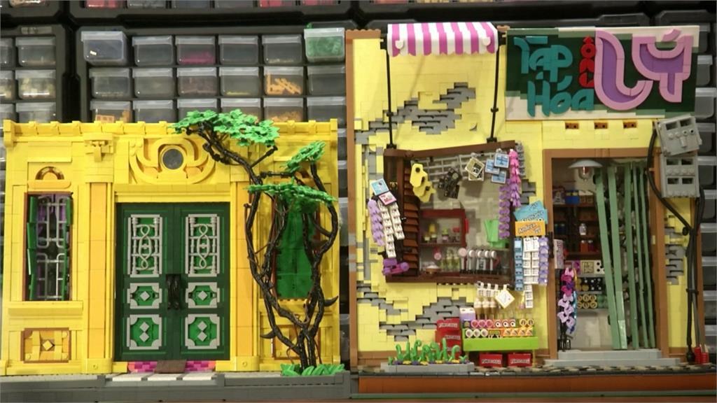 日常生活擷取靈感 越南高手用樂高玩出街景