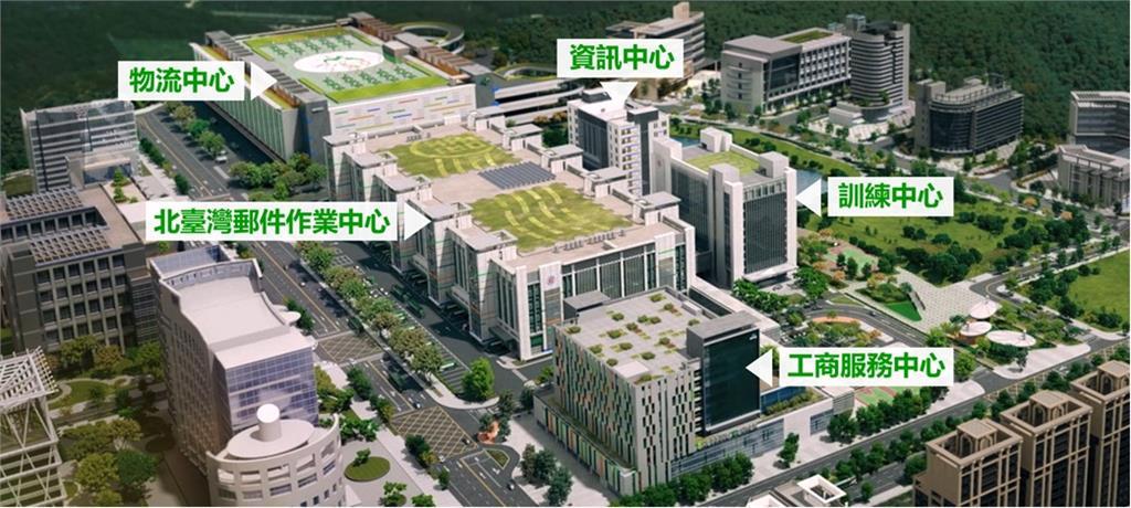 打造郵政智慧物流新里程碑!北台灣郵件作業中心及訓練中心新建工程開工動土