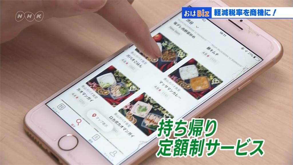 日本消費稅新制上路 餐飲業搶食「外帶新商機」