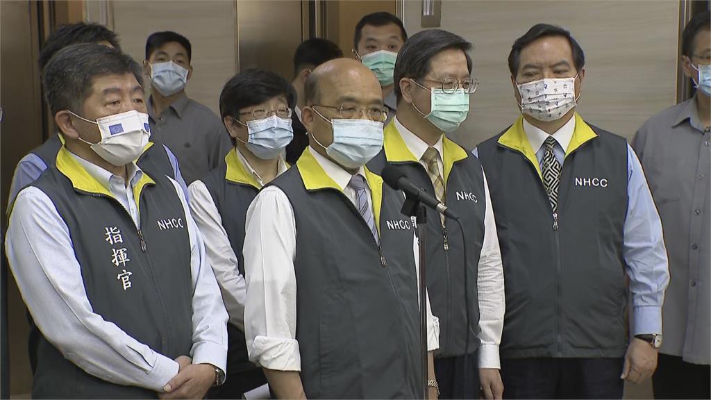 快新聞/疫情升溫! 蘇貞昌:台灣疫情有新狀況「大家該收心了」