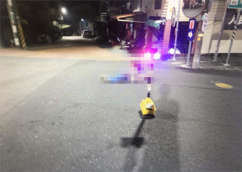 快新聞/台南離奇車禍! 男子不明原因倒地遭輾 20秒後又遭另車輾斃爆頭亡