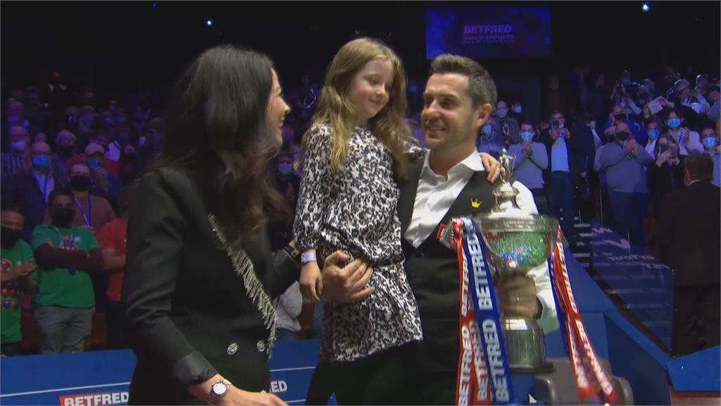 四度奪斯諾克世錦賽冠軍 賽爾比登世界第二