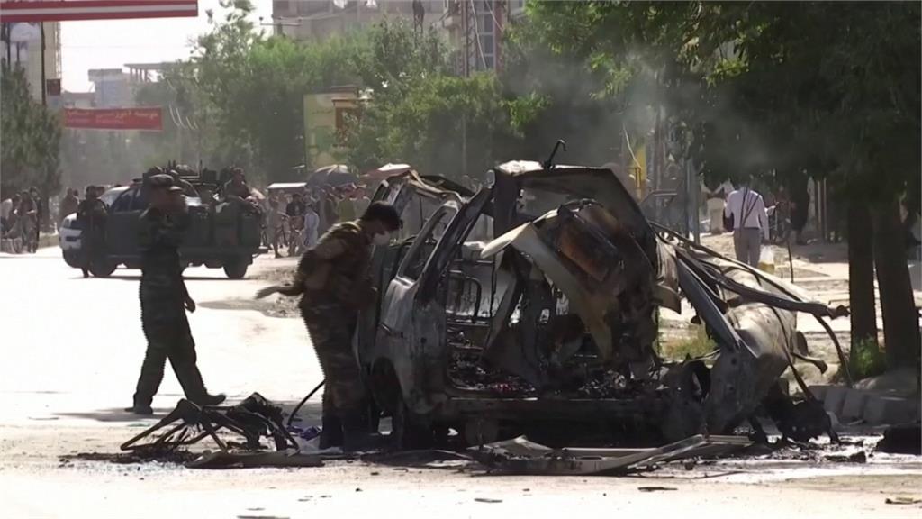 慘案重演!阿富汗2公車遭炸彈攻擊 7死6傷