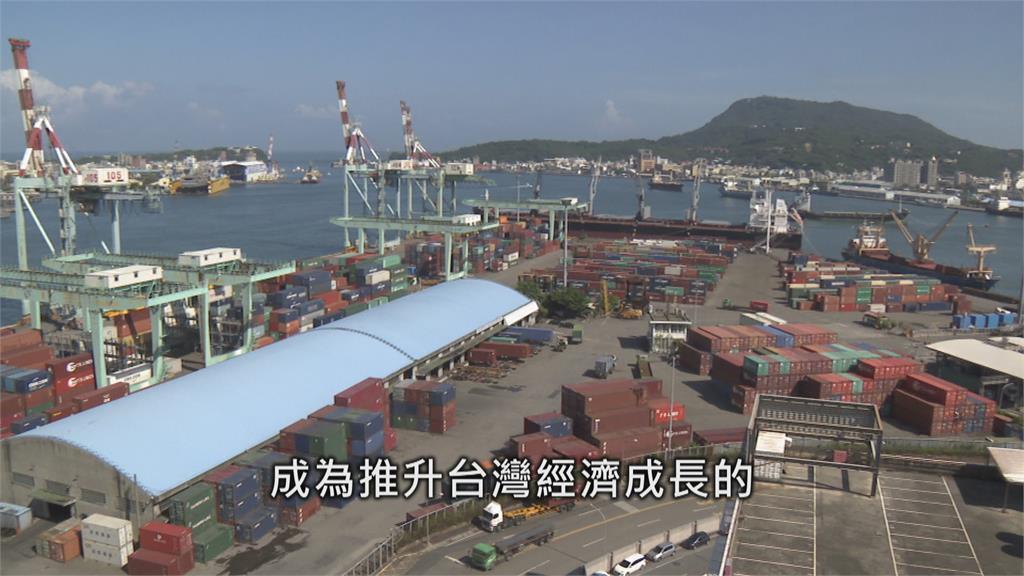 台灣出口動能強勁! 第二季GDP成長上修到7.47%