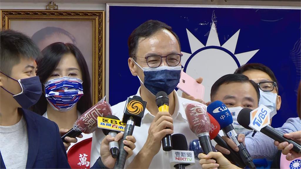 快新聞/得票率未過半如何帶領KMT? 朱立倫:不管什麼藍將來都團結在一起