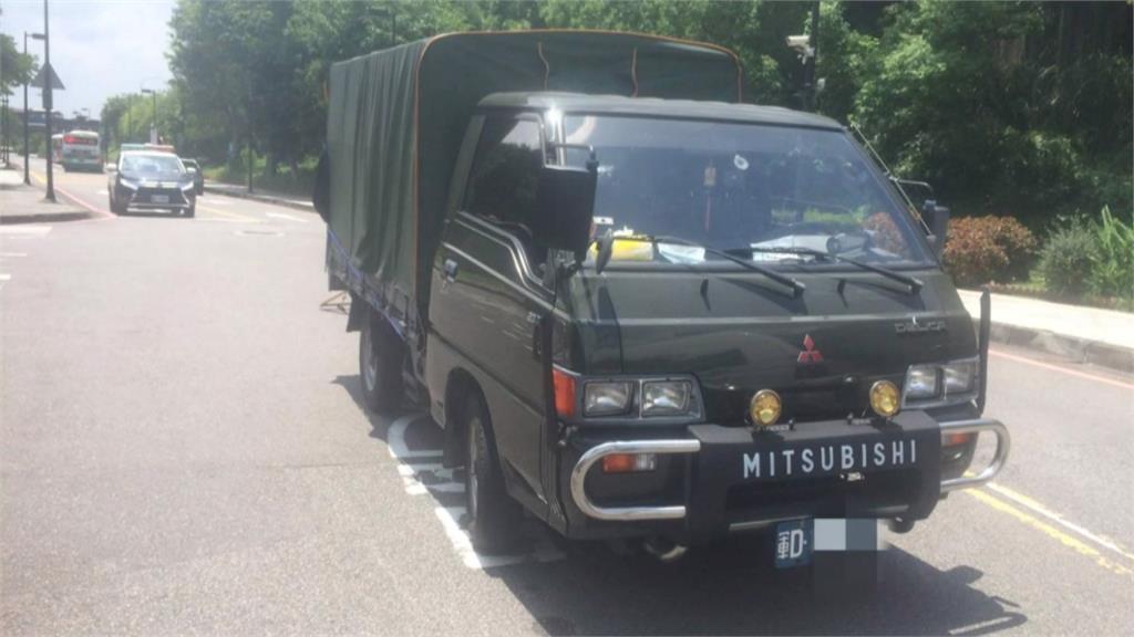 馬以南倒車撞上後方軍方卡車 驚嚇後「沒人受傷」私下和解