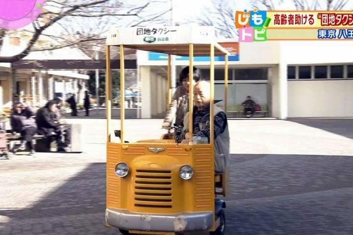 銀髮族福音! 日本「人力小黃」免費接送長者