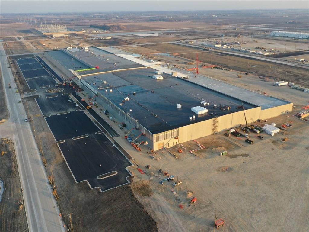 鴻海工業富聯 美國威州廠新產能已投產