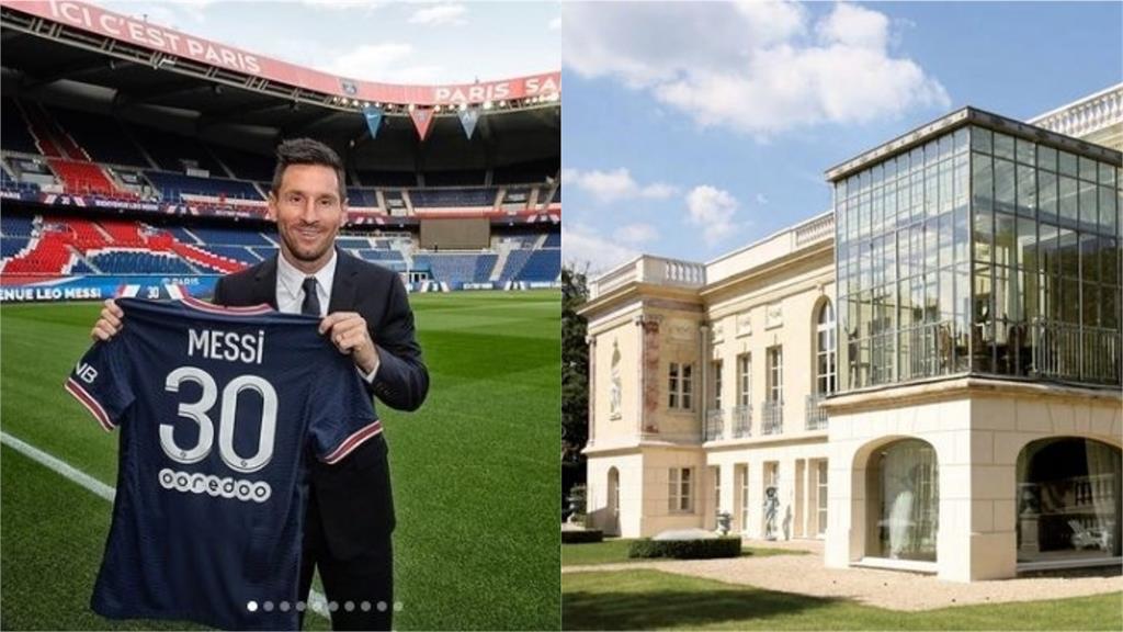 梅西看中巴黎百年古堡開價15.6億 法國前總統戴高樂也曾住過
