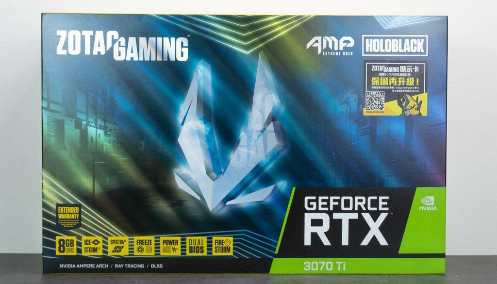 嚴格評測卡皇 ZOTAC GAMING GeForce RTX 3070 Ti — 堆料的極致表現