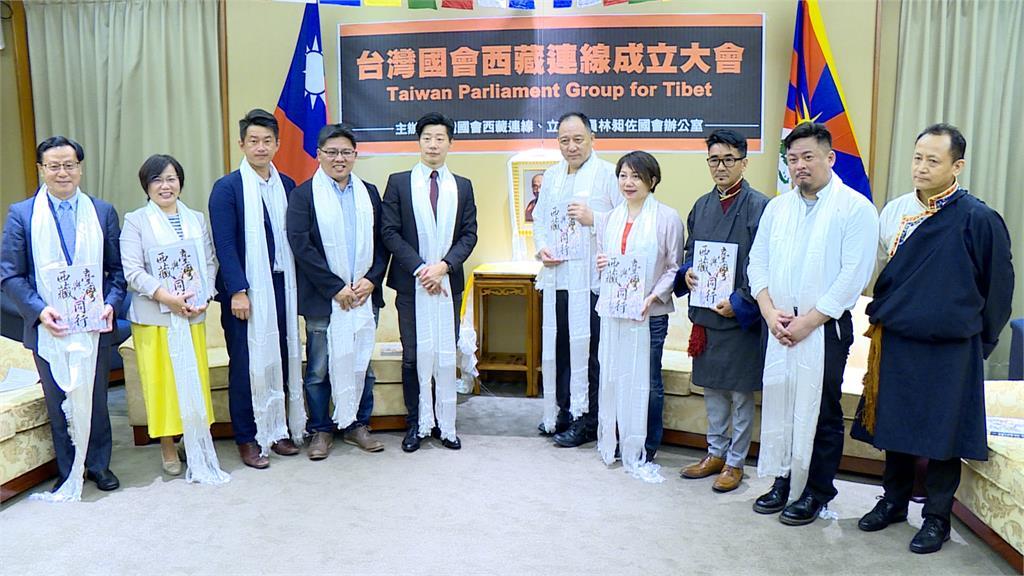 「台灣國會西藏連線」成立 盼達賴再訪台