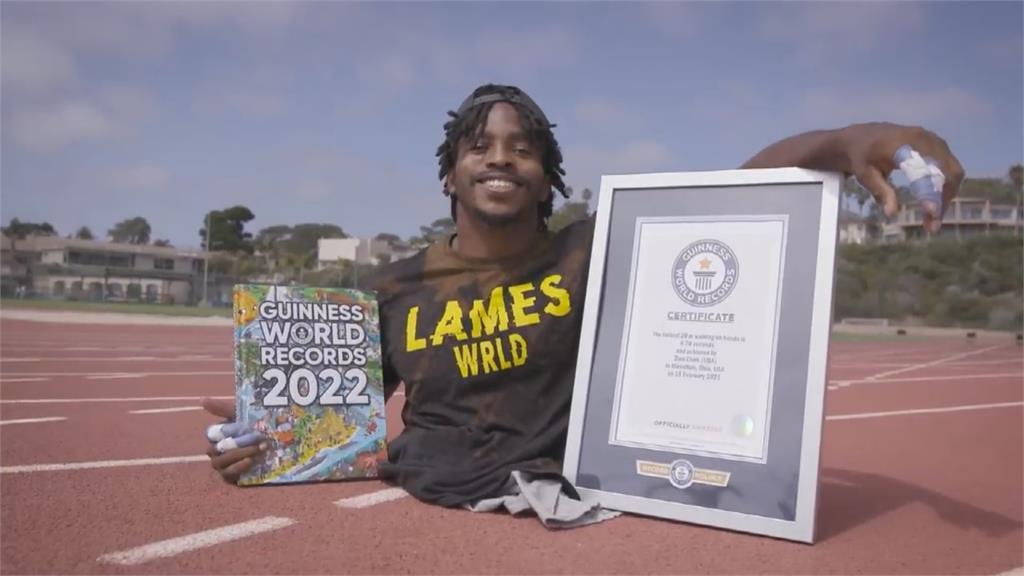用手跑步寫世界紀錄 無下半身選手超勵志