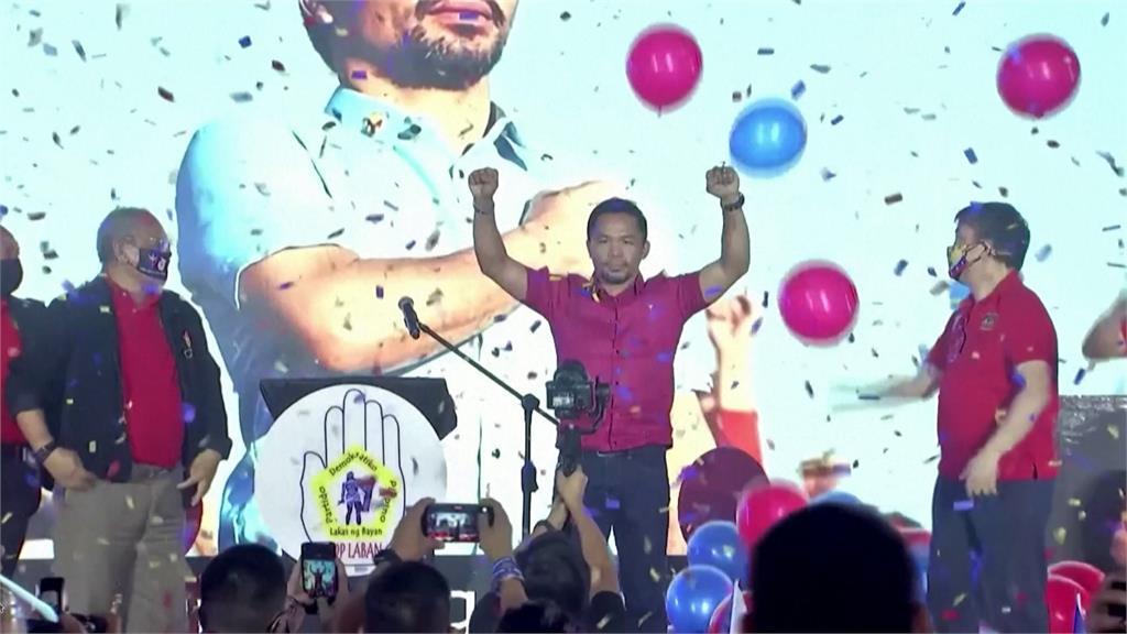 不滿杜特蒂親中 菲律賓拳王帕奎奧宣布選總統