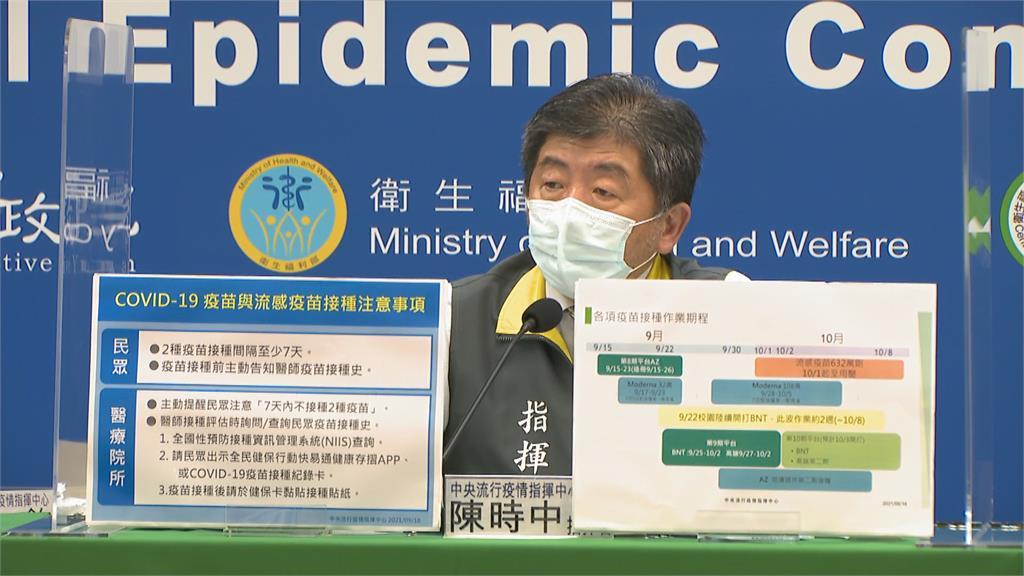 快新聞/第十輪疫苗也打BNT、高端 陳時中:10/3開打