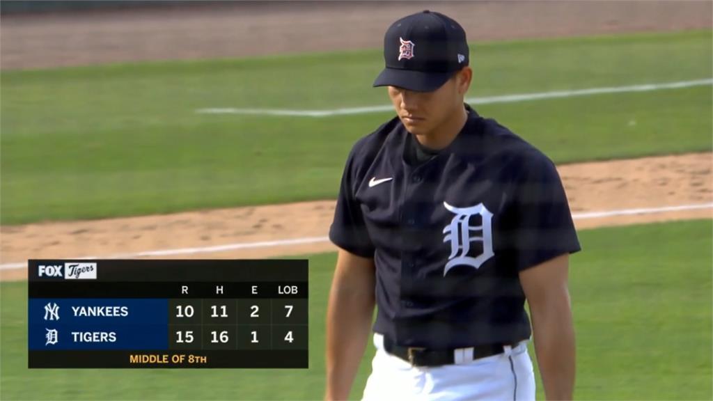 MLB/江少慶火球招呼打者 奪中繼點卡位開季名單