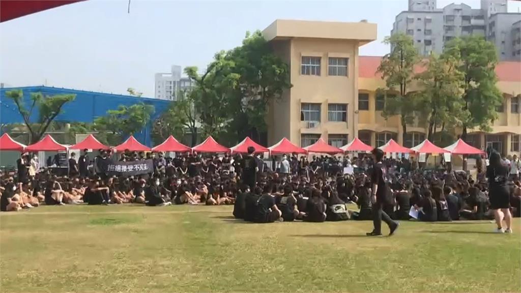 白投票? 校慶不對外開放 學生抗議疑遭威脅