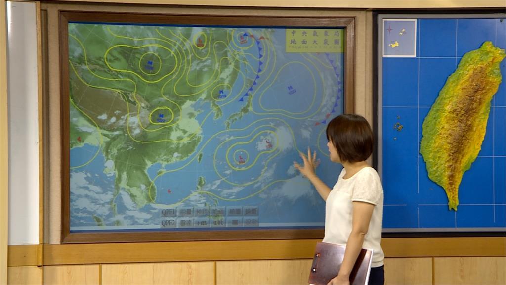 東北風加低壓帶影響!明起北部、東部雨連下整周