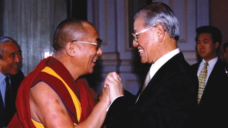 快新聞/哀悼「西藏人盟友」李登輝離世 達賴喇嘛:效法其為民主的奉獻精神