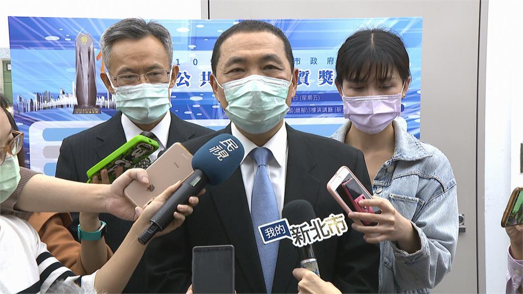 雙北捷運環狀線之爭 侯:新北願承擔責任