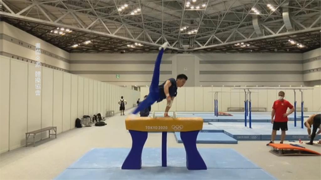 力拚台灣首面奧運體操金牌! 李智凱最新練習畫面曝光!