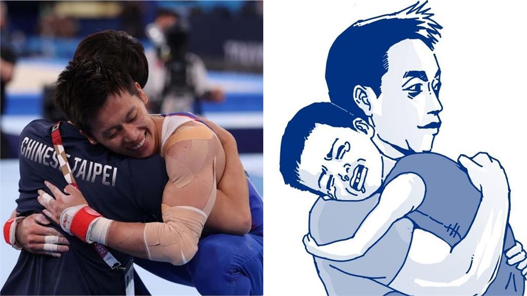 東奧/李智凱擁抱教練一張圖走過15年歲月 網鼻酸:眼淚自己掉了下來!