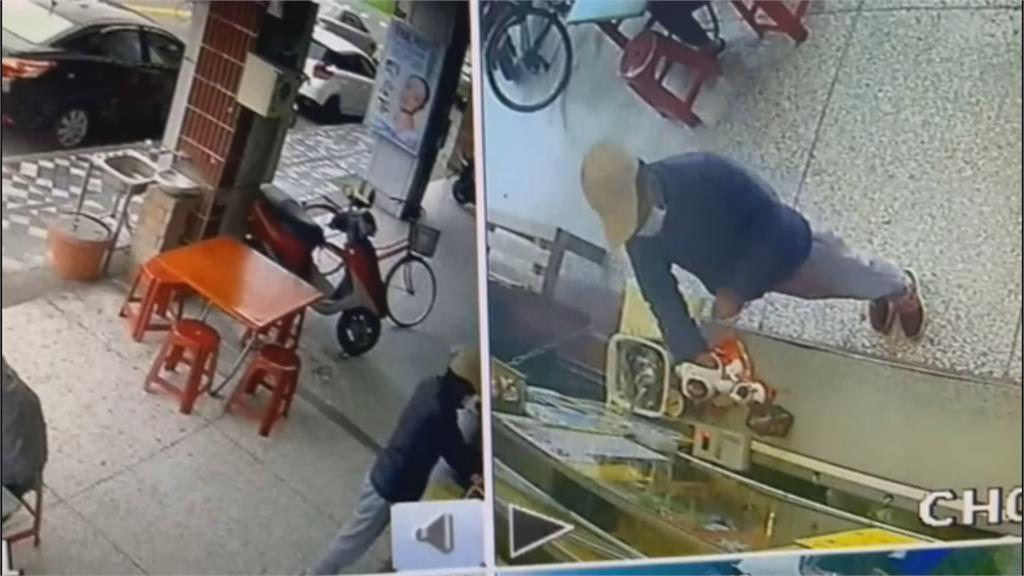 大膽毒蟲! 偷愛心零錢箱  被發現竟還作勢打人恐嚇店員
