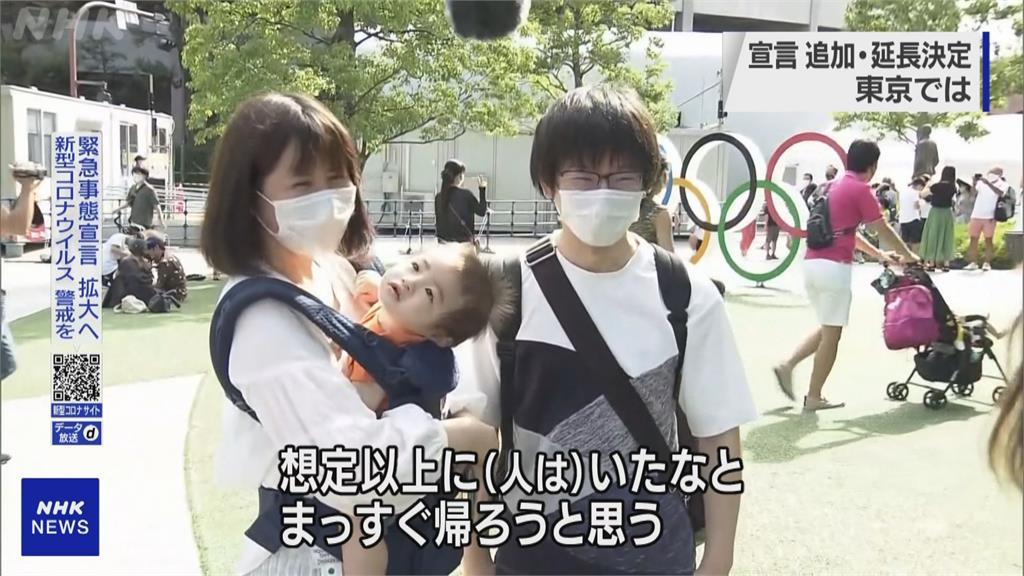 日本確診連兩天破萬人 防疫疲乏街頭湧人潮