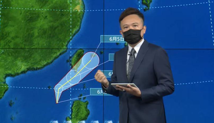 快新聞/輕颱「彩雲」明下午最接近! 不排除南台灣發陸警、注意午後強降雨
