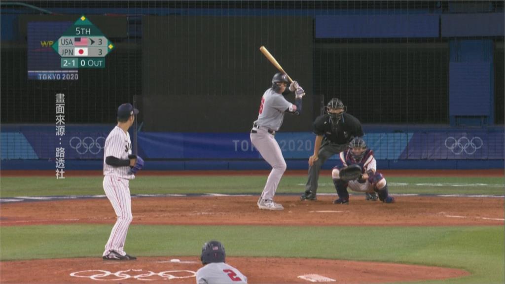 東奧棒球第二輪 甲斐延長賽再見安打 日本大逆轉美國