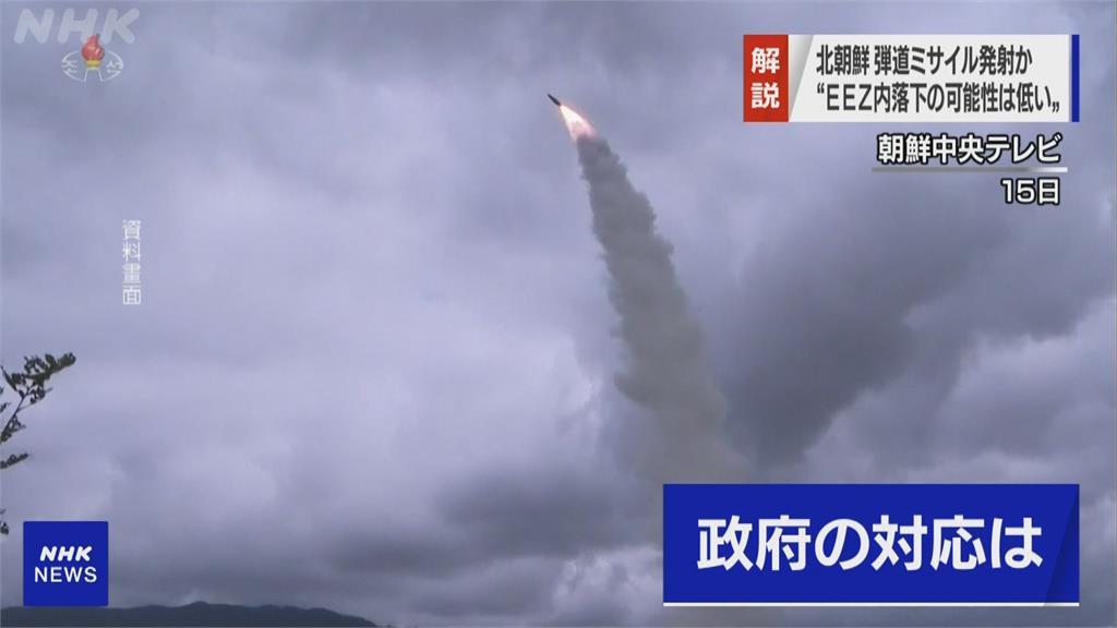 北朝鮮疑發射短程飛彈 南韓:可能是全新武器