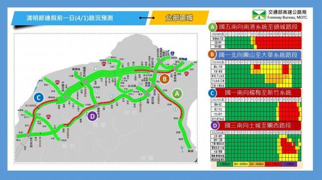 快新聞/清明連假地雷路段曝光! 國5今上午湧車潮恐塞到深夜