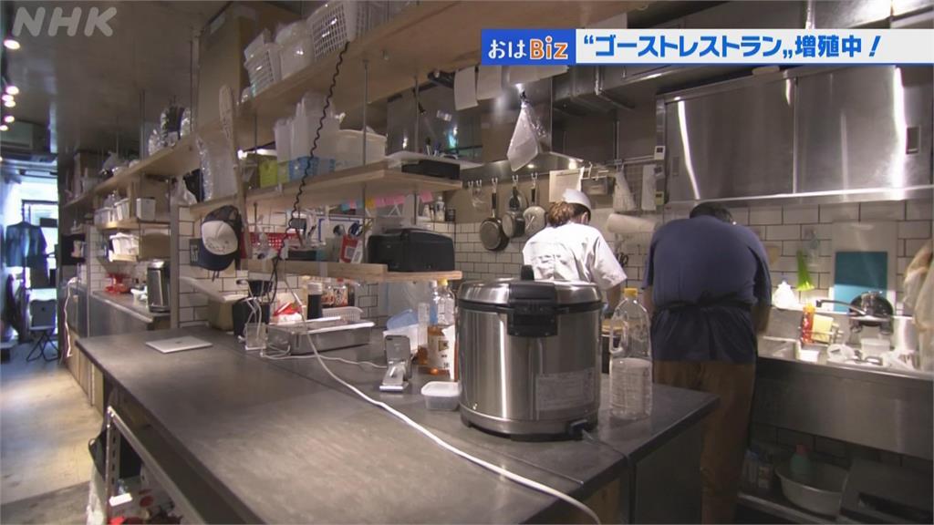 日本餐飲業生意難恢復 「無店面餐廳」成新趨勢