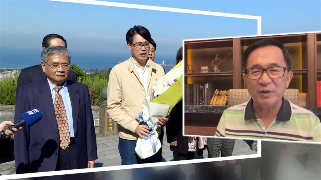 游盈隆退民進黨 陳水扁:不會是最後一個