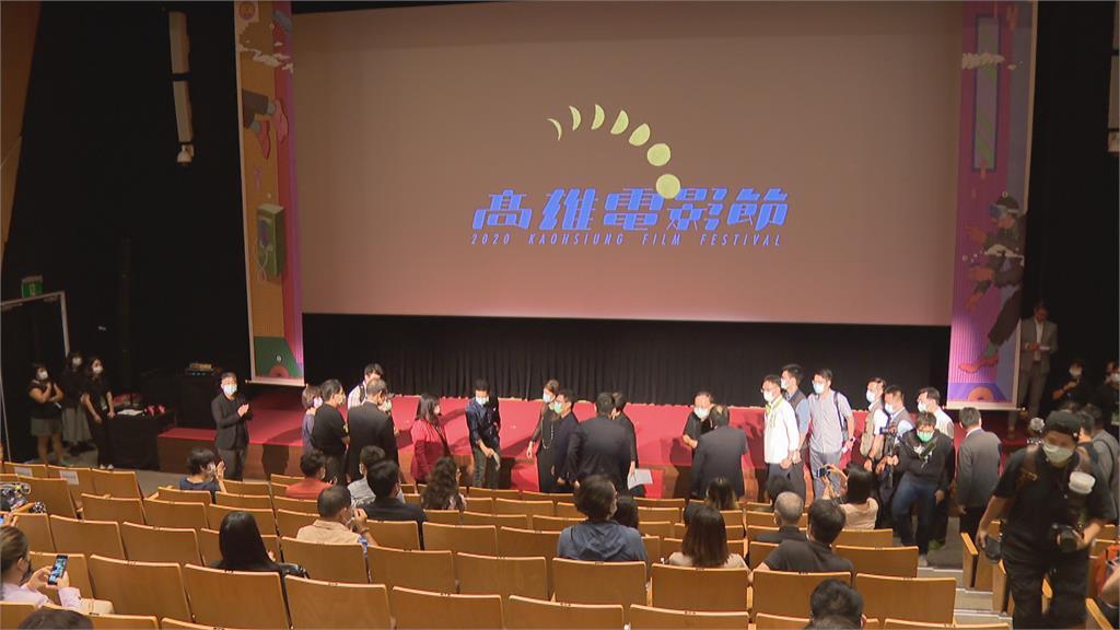 高雄電影節20週年! 陳其邁.蔡明亮同台慶祝