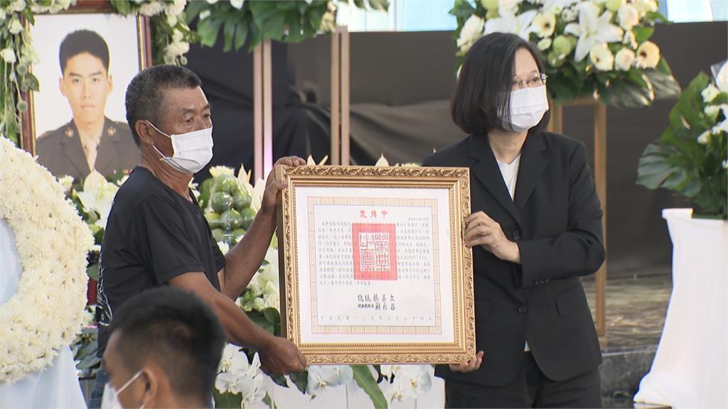 漢光演訓翻舟意外2殉職今公祭 總統親頒褒揚令
