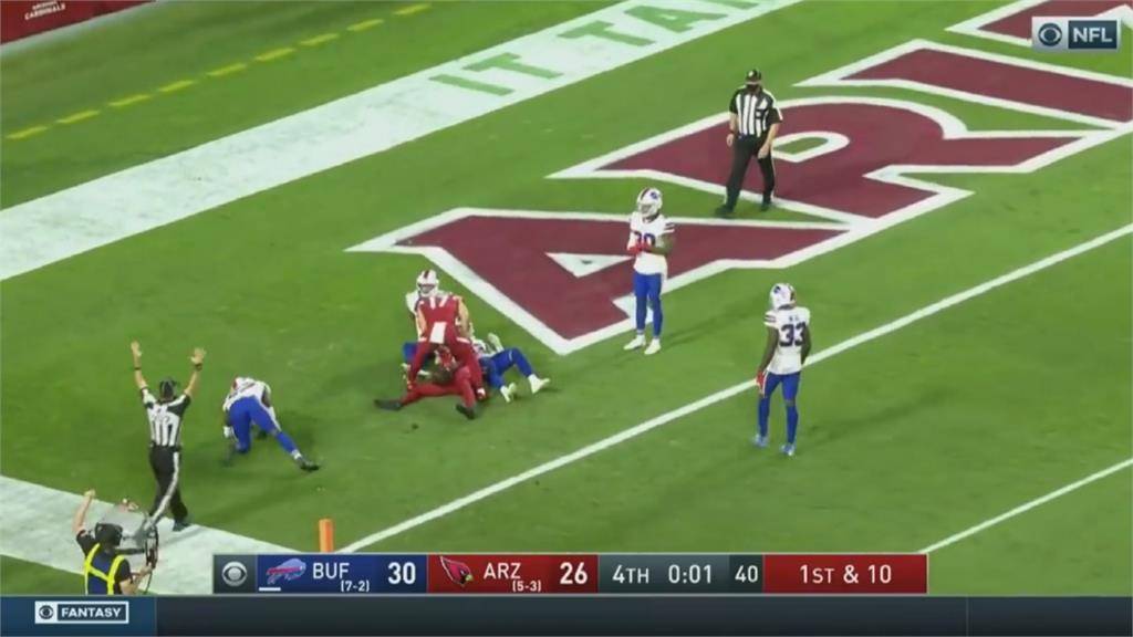 NFL紅雀四分衛莫瑞 不排除當棒足兩棲動物