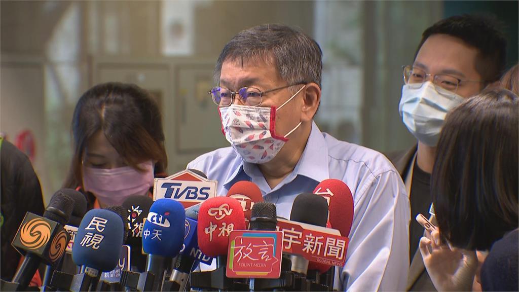 快新聞/蘇貞昌稱「陳時中帶頭打疫苗」釀「爆桌」 柯文哲聳肩:他們自己去喬