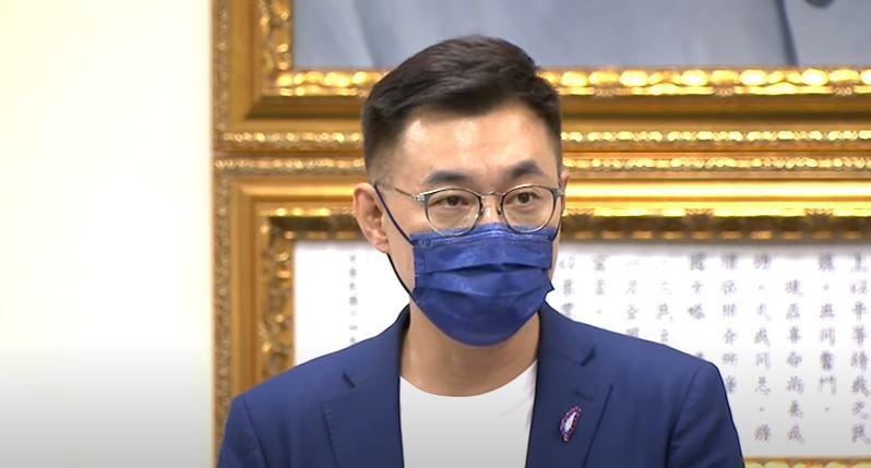 快新聞/江啟臣連任失敗恭喜朱立倫當選 宣布今日率一級黨務主管總辭