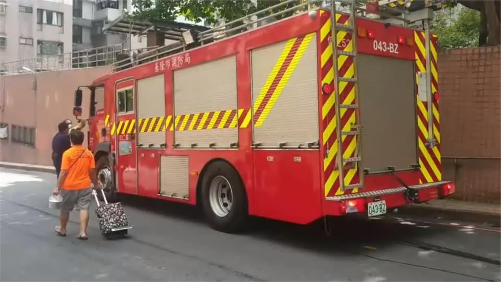 消防車救火反被撞!小黃司機擦撞後肇逃