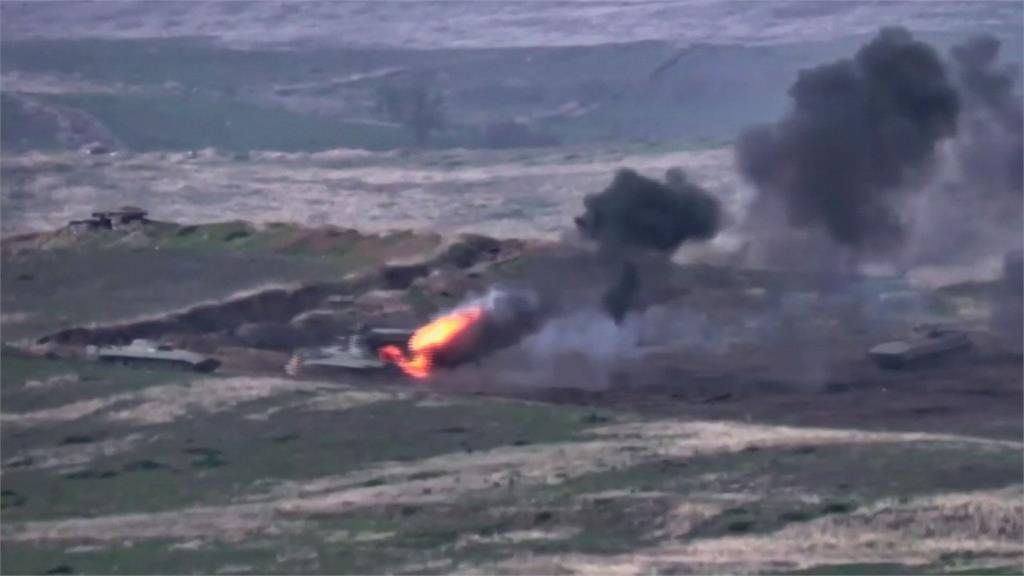 亞美尼亞與亞塞拜然軍事衝突 至少24人死