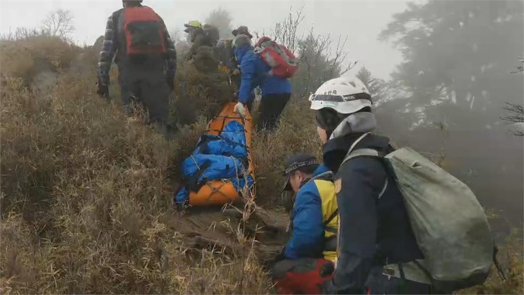 南投郡大山 34歲失聯女 疑失足墜40米深谷慘死
