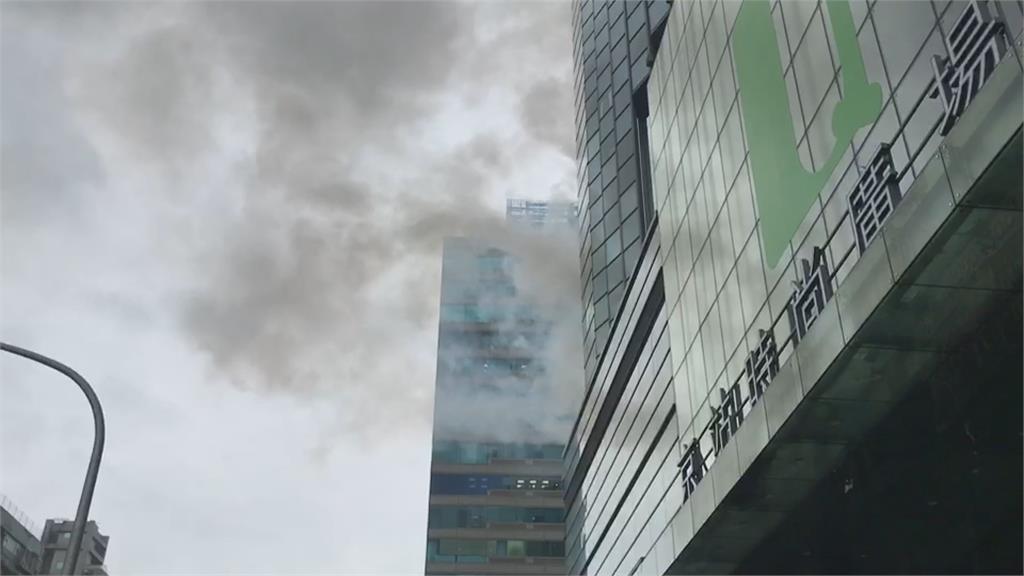 君品酒店5樓戶外起火 轉運站35個班次延誤!