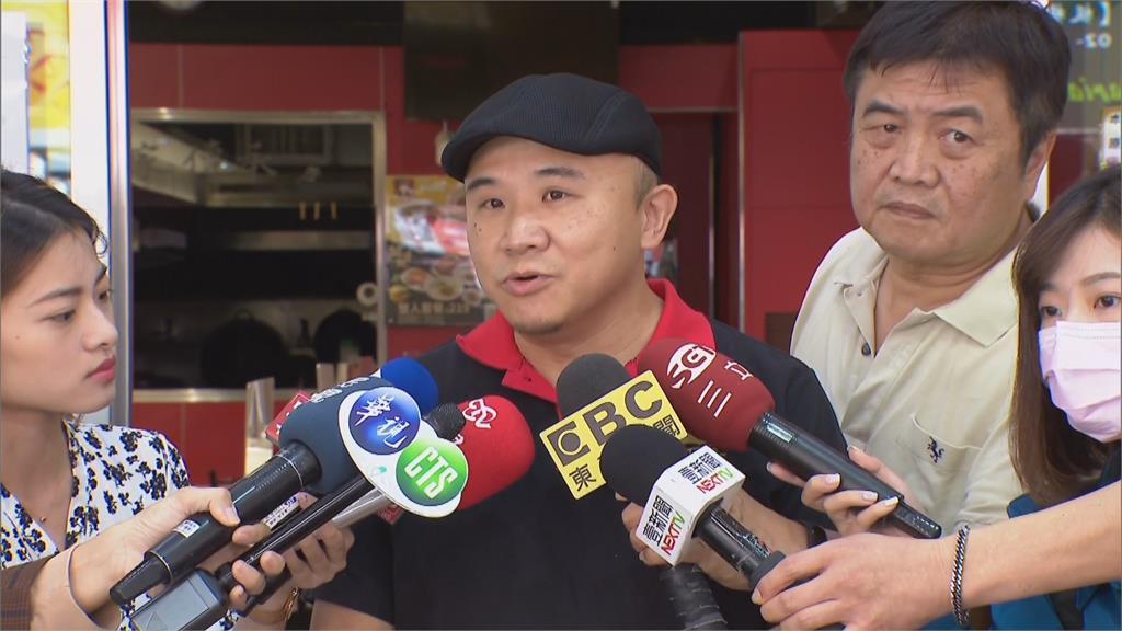 快新聞/丁怡銘臉書po收到鼓勵簡訊 牛肉麵老闆否認:沒聯絡過