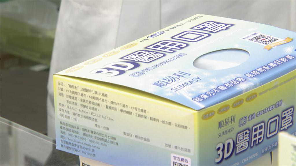 核心原料「熔噴布」價格漲 盒裝口罩10月起恐調漲!