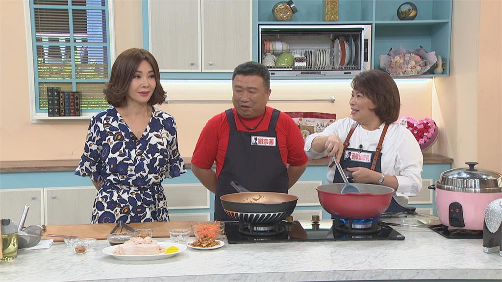 黃敏惠行銷嘉義!睽違多年再上陳美鳳節目 邀達人現場示範火雞肉飯